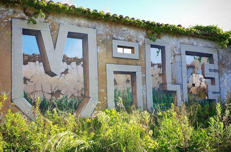 Vile, lo street artist portoghese che illude lo spettatore