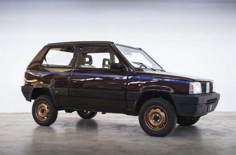 Panda 4×4 Icon-e di Garage Italia, tra tradizione e modernità