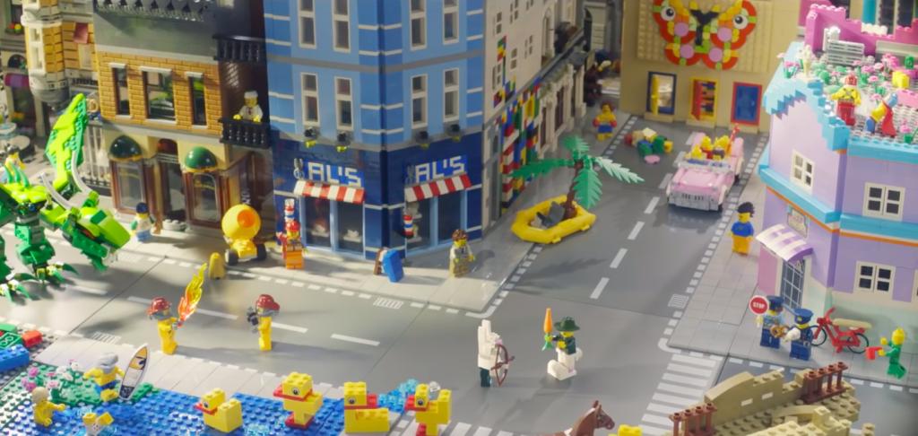 lego rebuild the world | Collater.al