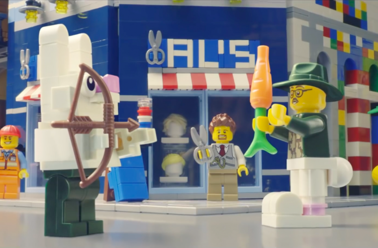 Rebuild The World, the LEGO campaign that encourages creativity