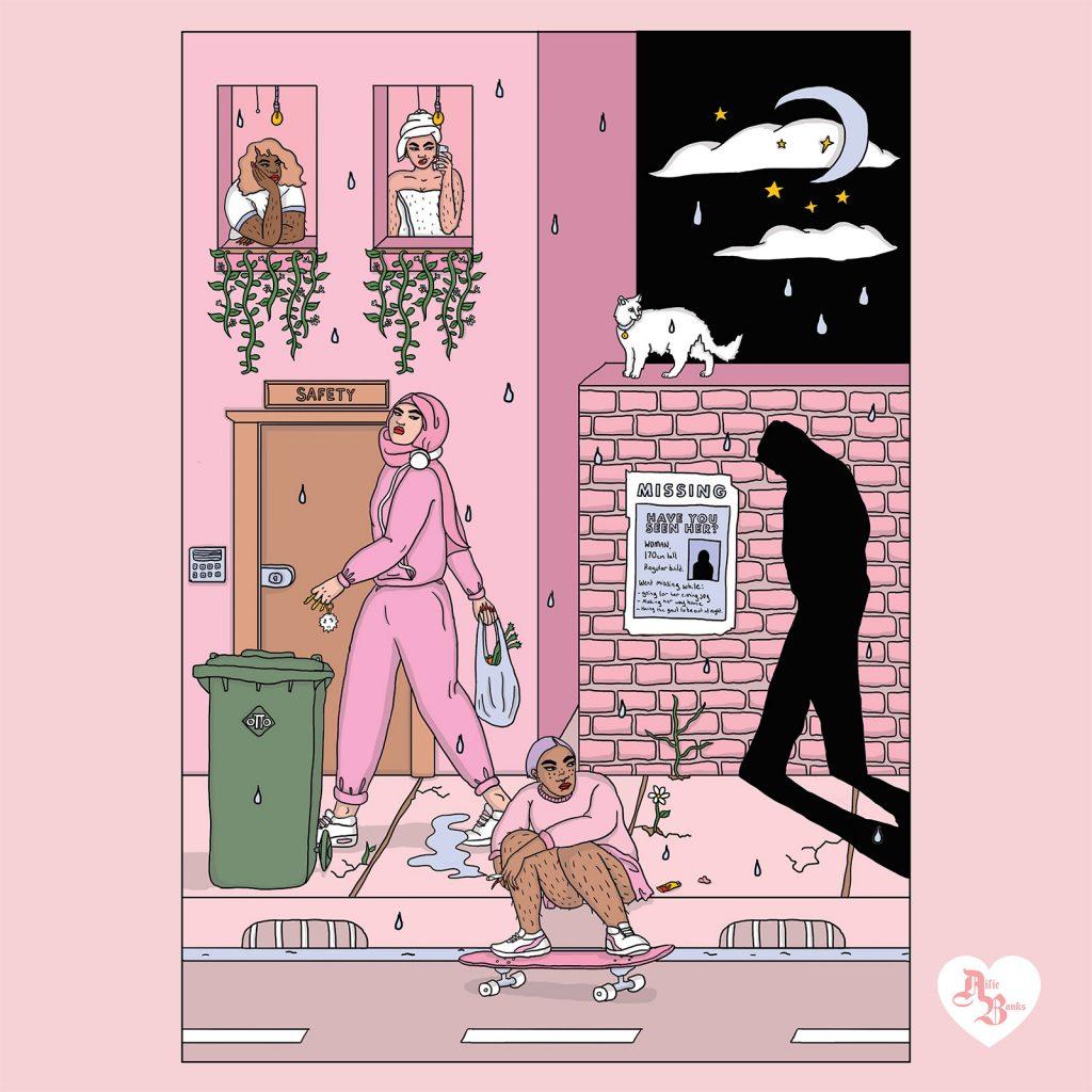Ailie Banks, quando il millennial pink è ribelle | Collater.al