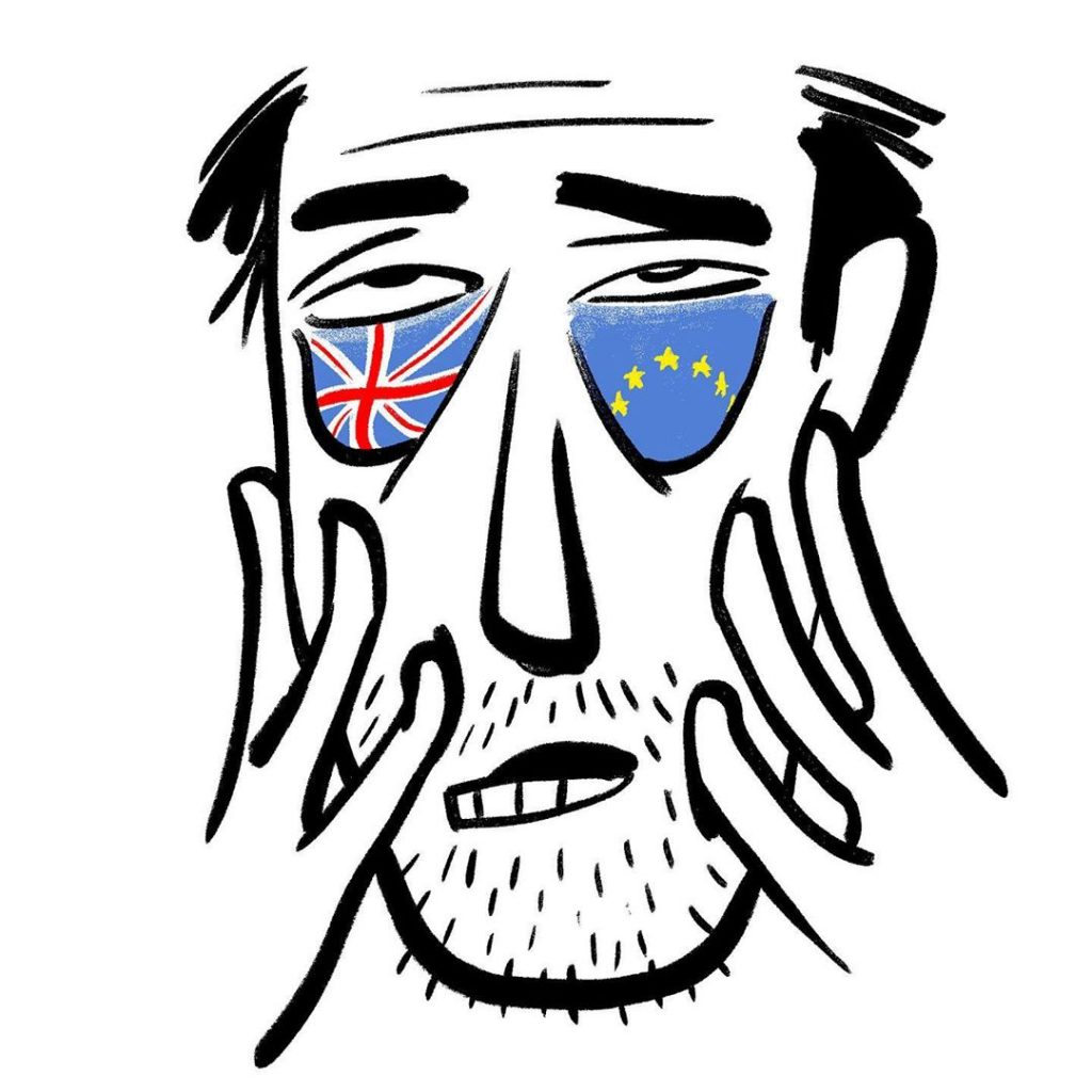 Christoph Niemann Brexit | Collater.al 2