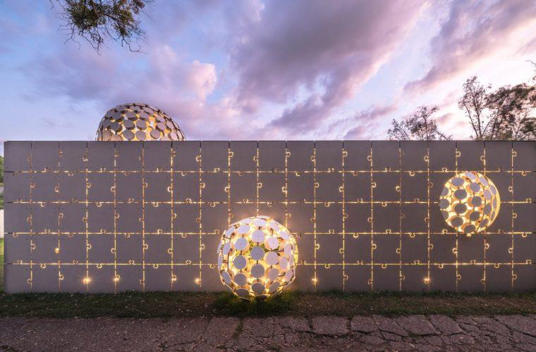 Egaligilo, il padiglione progettato dall'architetto Gerardo Borissin