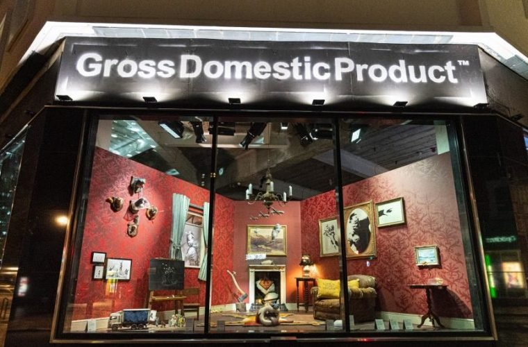 Gross Domestic Product, il negozio di Banksy a Londra