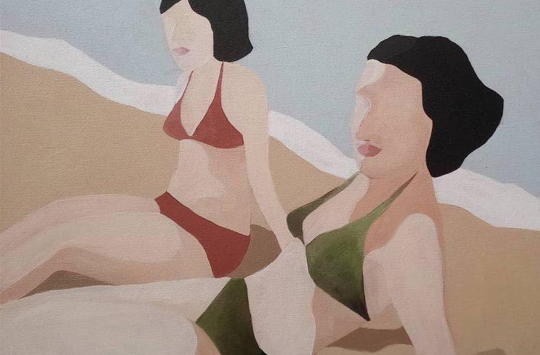 Il corpo della donna nei dipinti di Sasha Podgurska