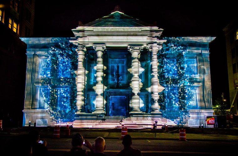 Il meglio del LUMA Projection Arts Festival di Binghamton