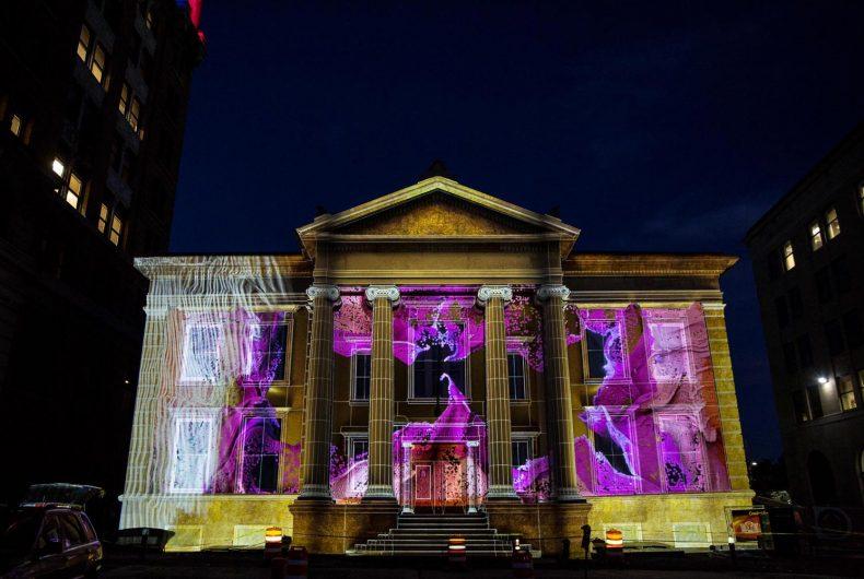 The best of LUMA Projection Arts Festival in Binghamton