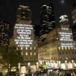 Jenny Holzer VIGIL | Collater.al 2
