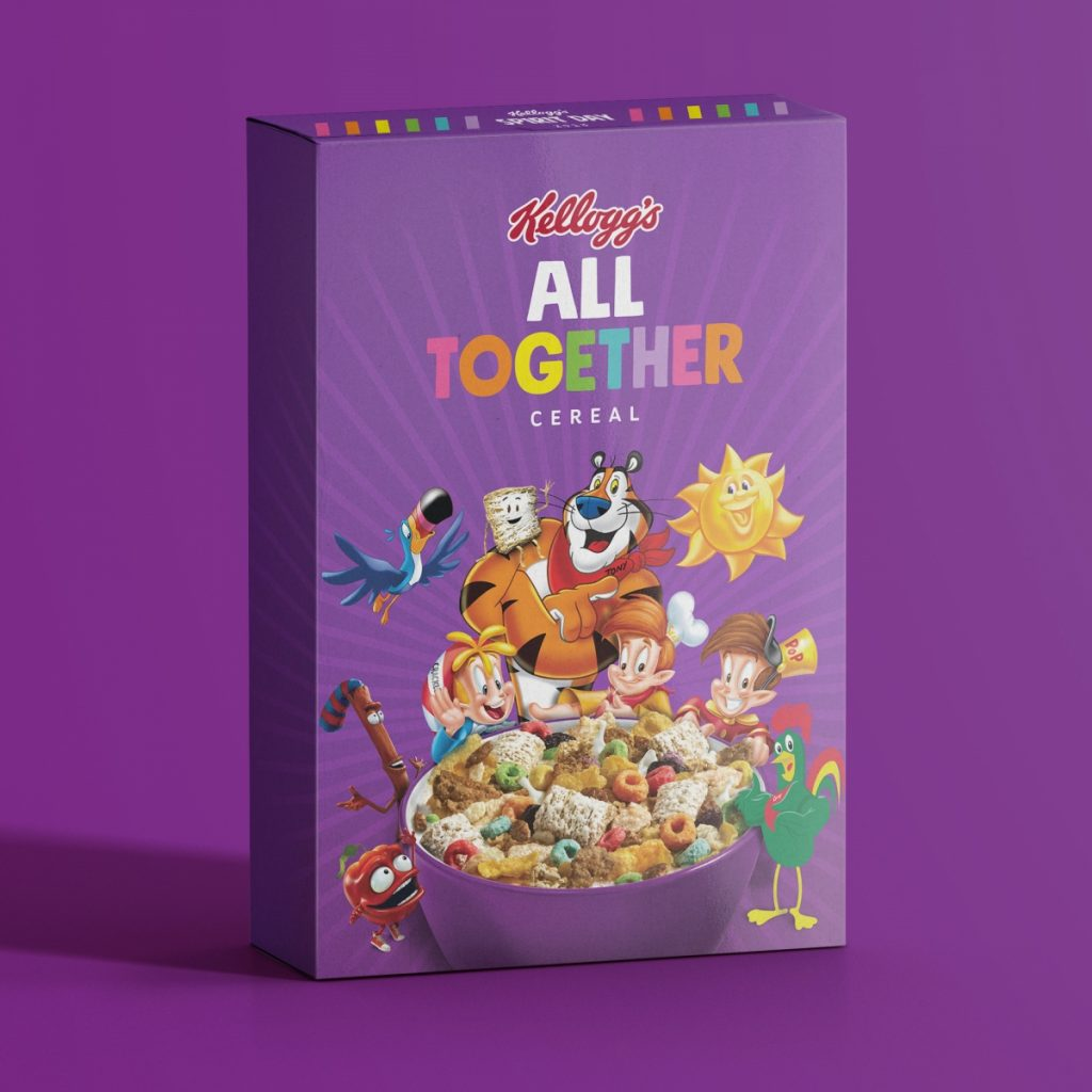 Kellogg glaad lgbtq All together | Collater.al