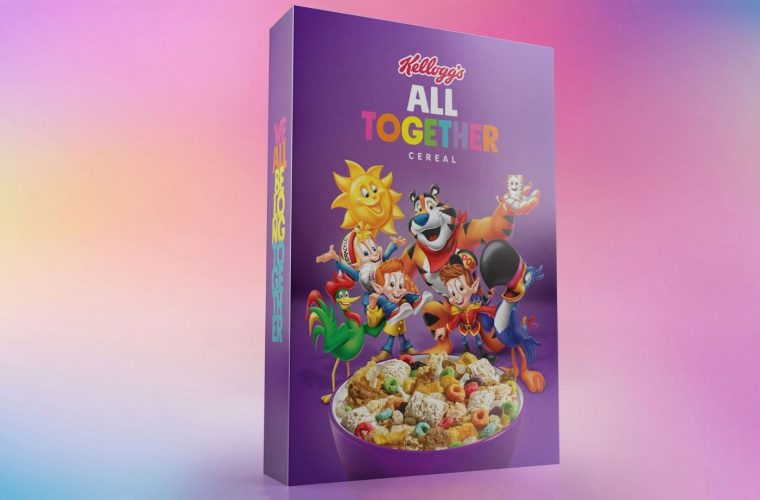 Kellogg's cereals for the LGBTQ+ community