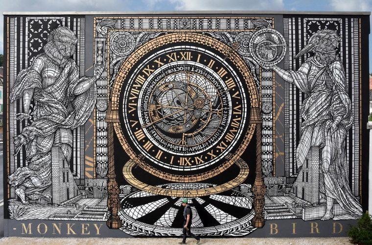 Mitologia ed alchimia nei murales di MonkeyBird