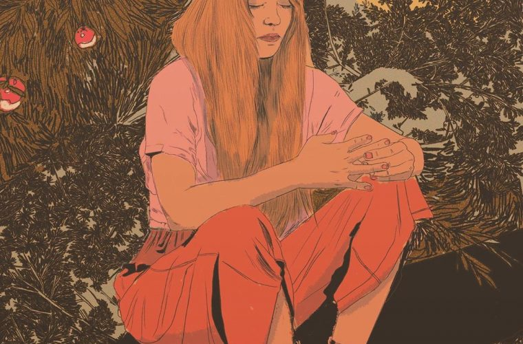 Nicole Rifkin and her melancholic and colorful illustrations
