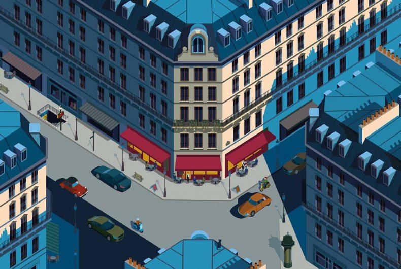 Le città e le architetture nelle illustrazioni di Peter Greenwood
