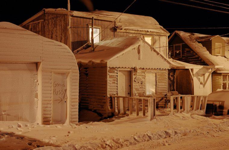 Polar Night, the cold and the dark of Alaska