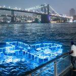 + Pool Light, l'installazione galleggiante di Playlab Inc & Family   Collater.al