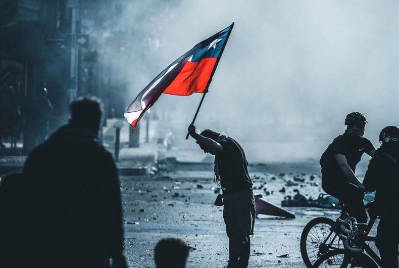 La situazione cilena attraverso le foto di Sebastián González