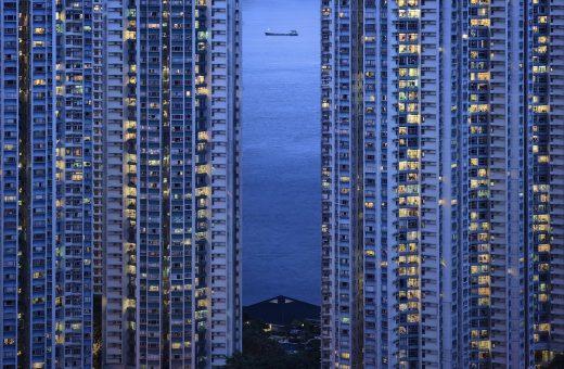 The Blue Moment, la città vista da Romain Jacquet-Lagrèze