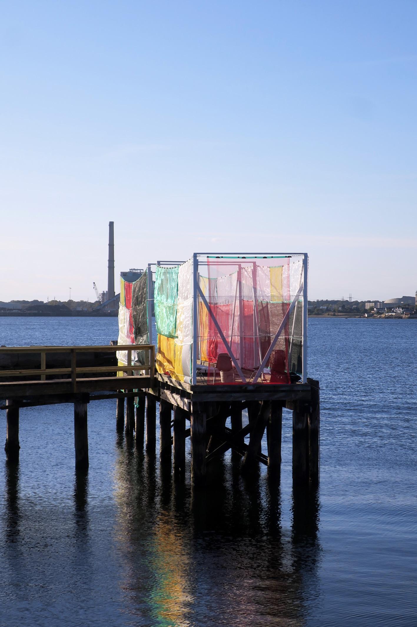Molo, Alberonero's last artwork in the USA