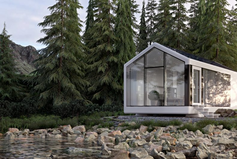 Haus, the 3D printed house to build anywhere
