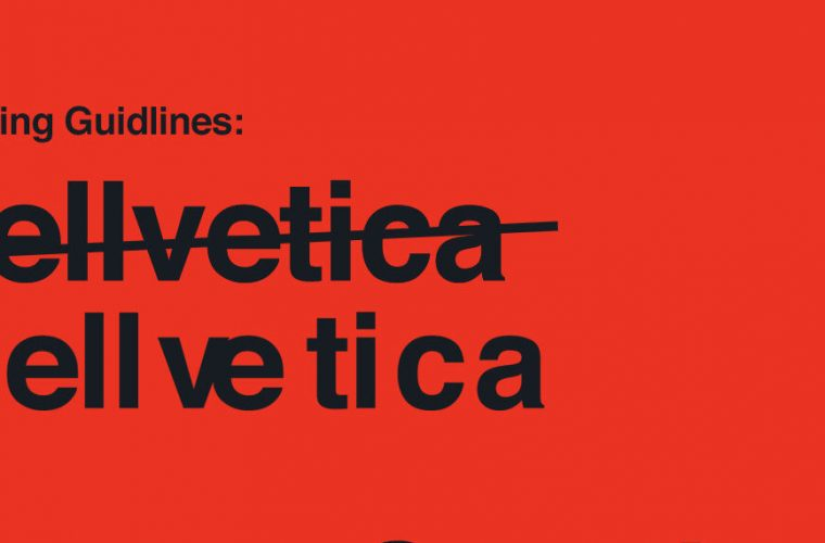Hellvetica, the character that scares the graphics