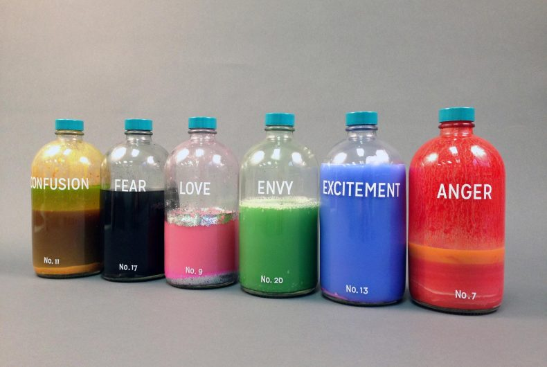 Le Bottled Emotions di Taylor Kinser