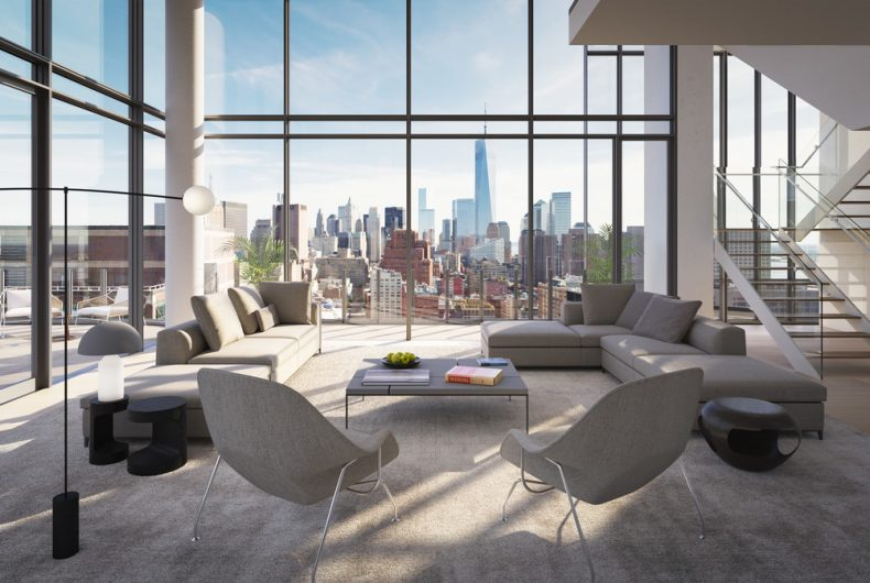 565 Broome Soho, Renzo Piano's luxury