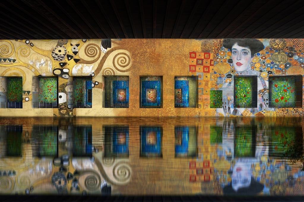 Bassins des Lumières, the digital art exhibition in Bordeaux