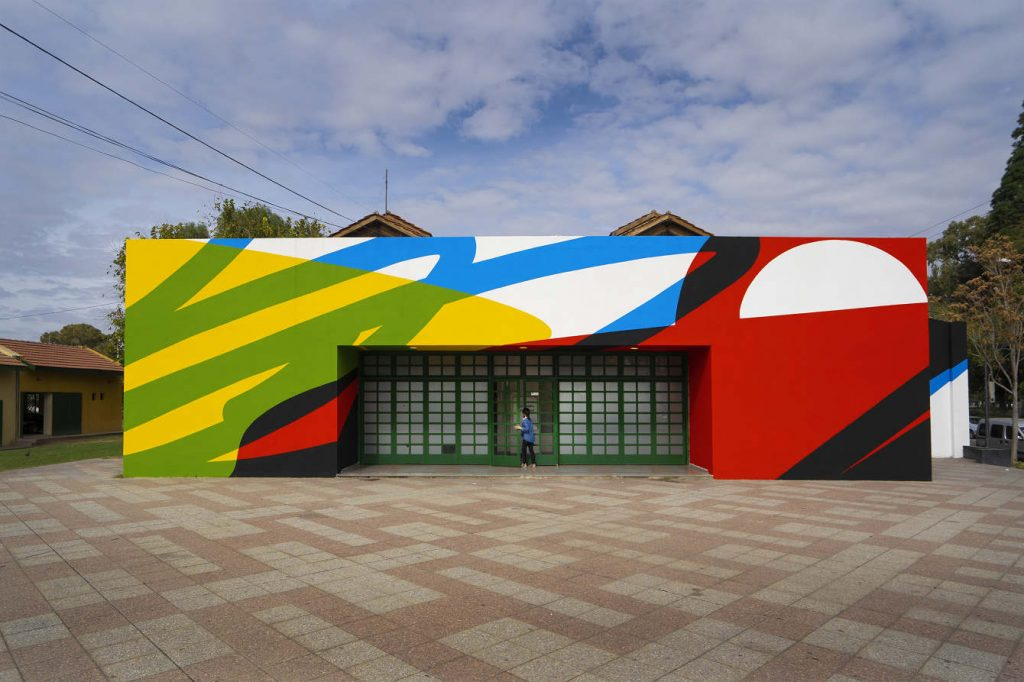 Elian Chali immerses walls in color with his street art | Collater.al
