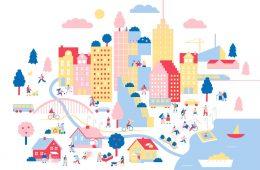 Le illustrazioni dolci e colorate di Emili Riikka