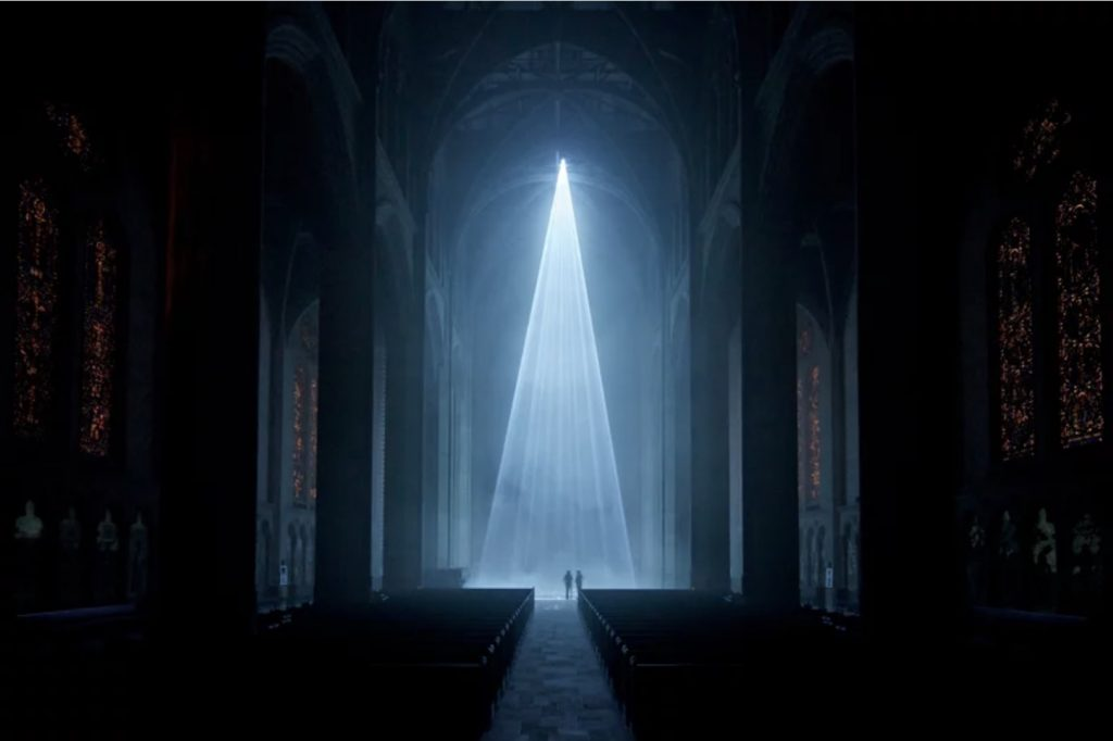 Grace Light, l'installazione immersiva della Grace Cathedral | Collater.al