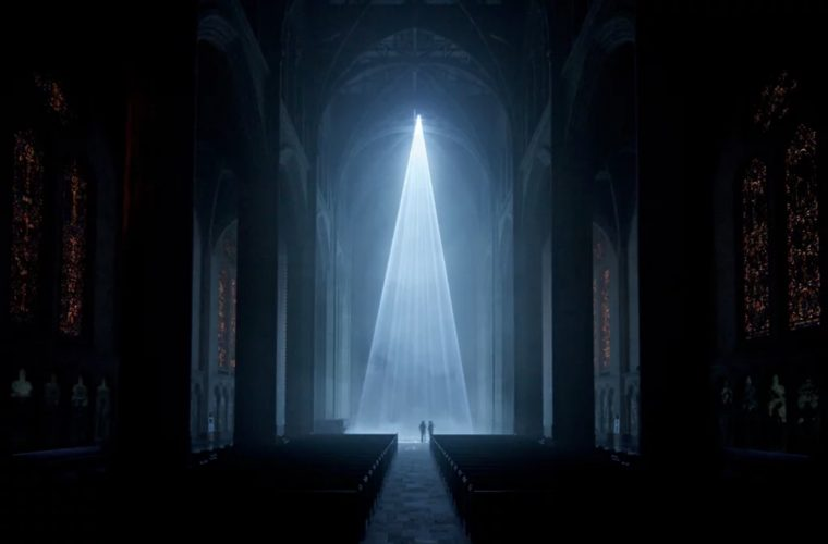 Grace Light, l'installazione immersiva della Grace Cathedral