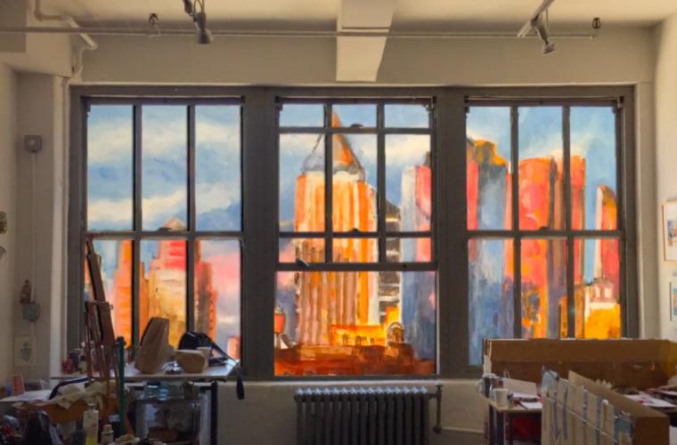 The Monolith, la finestra sull'arte di Gwyneth Leech