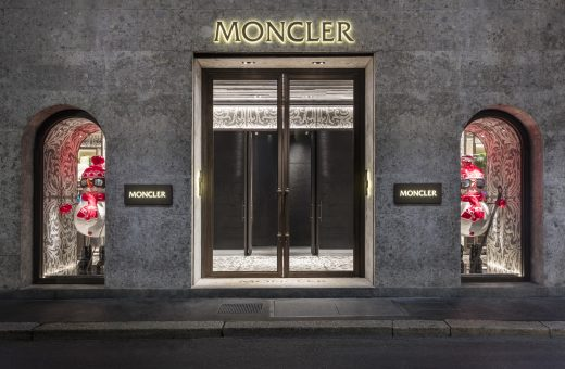 House of Genius: Moncler fashion show in the Galleria in Milan