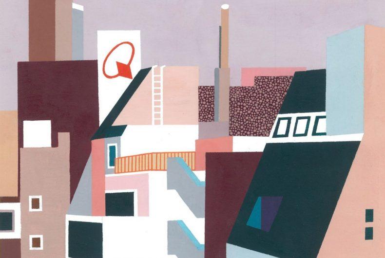Il fascino delle geometrie nei quadri di Bianca Wilson