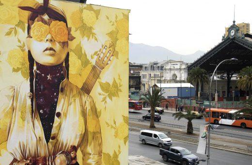 Primavera Insurrecta, il murale sociale di Inti Castro