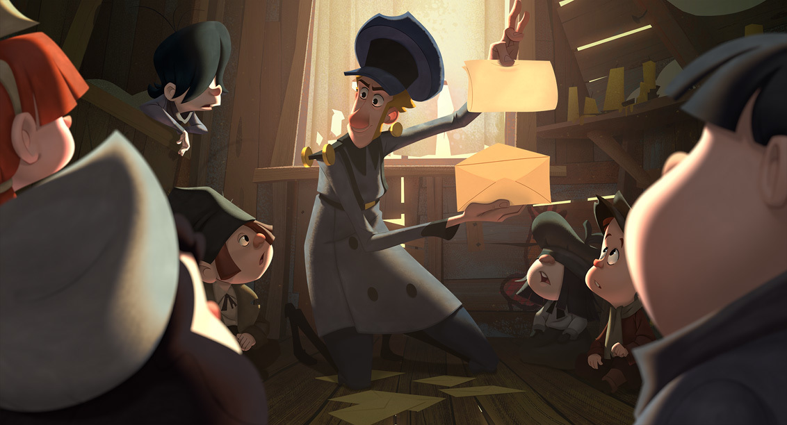 Klaus, the first animated film by Netflix