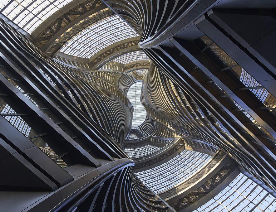 Leeza Soho Tower, the new building designed by Zaha Hadid Architects