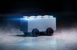 The new Tesla Cybertrack in LEGO format