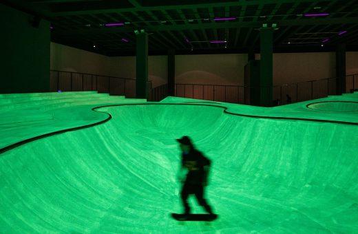 OooOoO, il nuovo skatepark alla Triennale di Milano