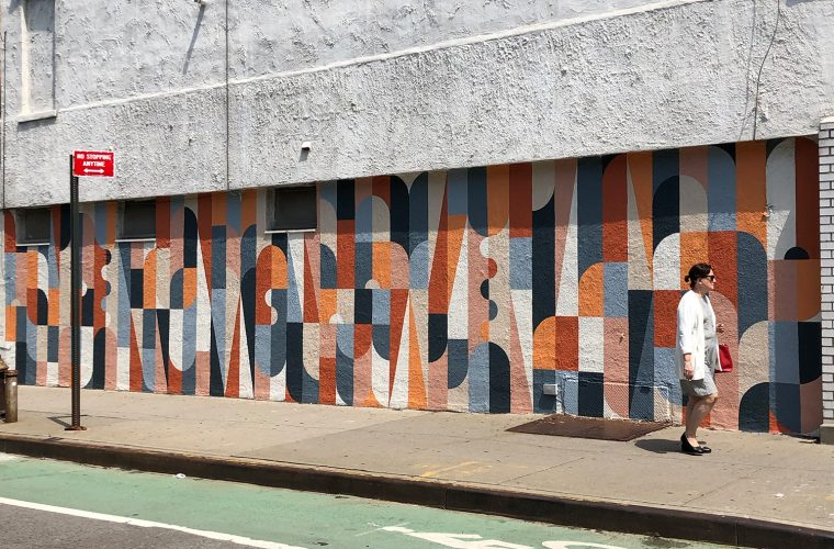 Holding Onto What Will, l'utimo murales di Scott Albrecht