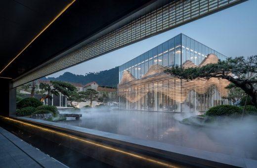 Shanxiao Sales Pavilion, la struttura innovativa a Nanshan
