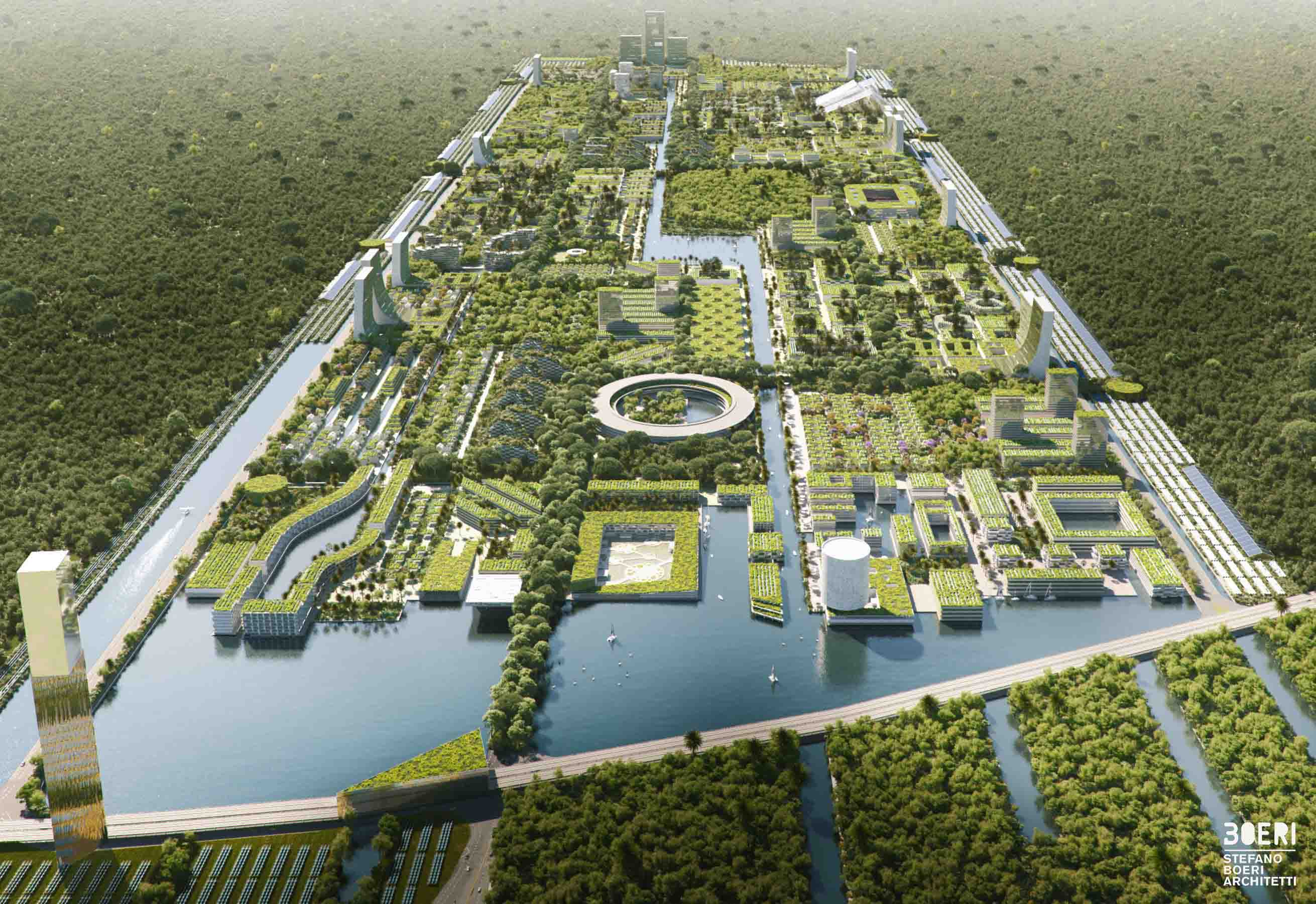 Smart Forest City, Stefano Boeri's project