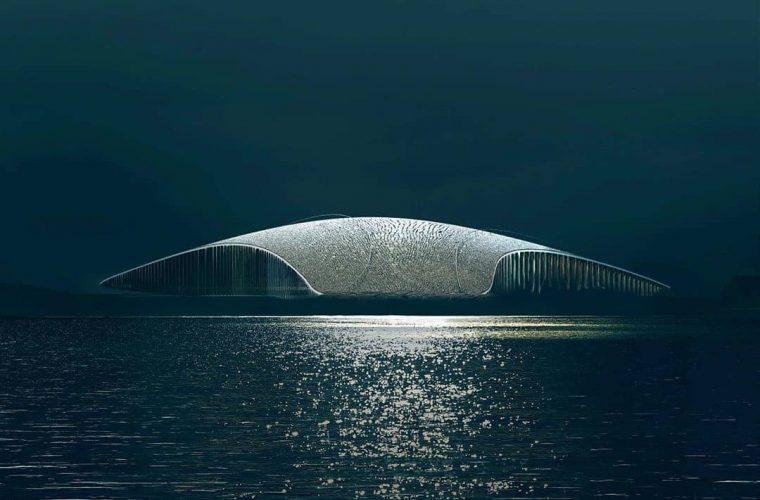 The Whale, il design norvegese si fonde con la natura