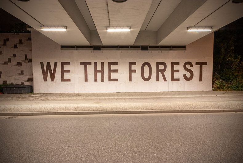 WE THE FOREST, l'ultimo lavoro dello street artist Escif