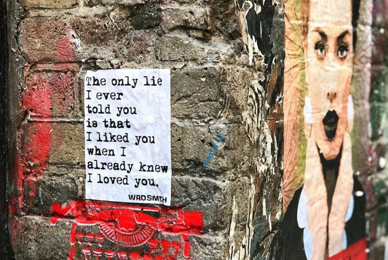 WRDSMTH, quando la parola si fa street art