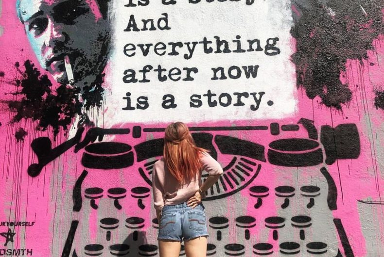 WRDSMTH, when the word becomes street art