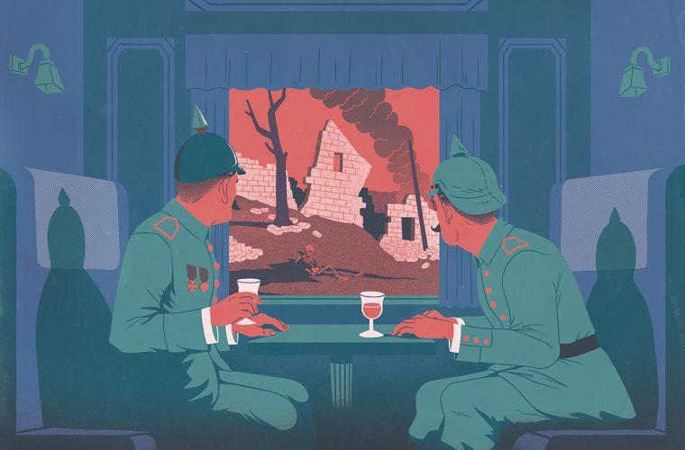 Cultura pop e umorismo nelle illustrazioni di Yonatan Popper