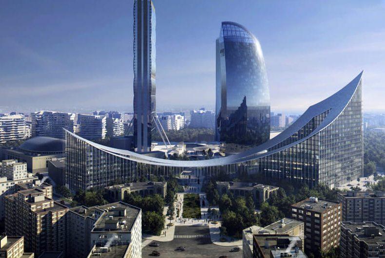 Portico, the new building designed for City Life