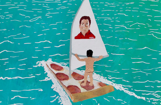 Alex Paulus, the humorous paintings on failure