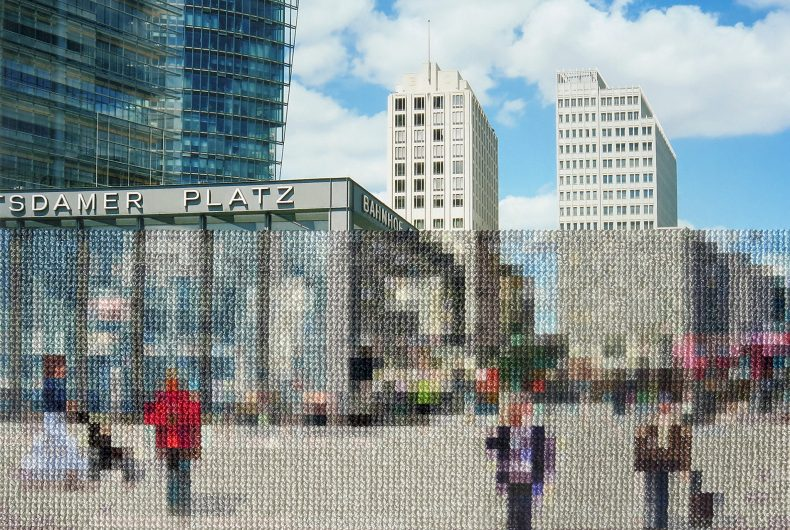 Berlin, Diane Meyer's embroidered photographic project